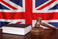 νόμος UK Στοκ Εικόνες