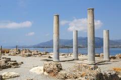 Νόρα Ruins Σαρδηνία Στοκ Εικόνες