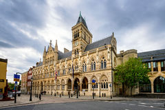 Νόρθαμπτον Guildhall Αγγλία UK Στοκ φωτογραφία με δικαίωμα ελεύθερης χρήσης