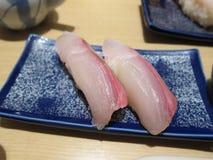 Νόστιμα ιαπωνικά σούσια Στοκ φωτογραφία με δικαίωμα ελεύθερης χρήσης