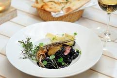 Νόστιμα ιταλικά τρόφιμα Στοκ εικόνες με δικαίωμα ελεύθερης χρήσης