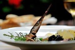 Νόστιμα ιταλικά τρόφιμα Στοκ Εικόνες
