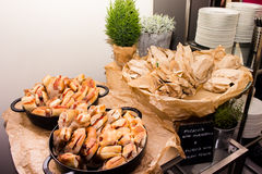 Νόστιμα σάντουιτς Στοκ Εικόνες