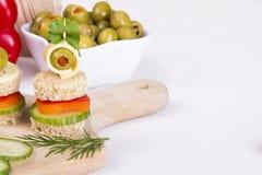 Νόστιμα τρόφιμα δάχτυλων Στοκ Εικόνες