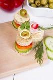 Νόστιμα τρόφιμα δάχτυλων Στοκ Εικόνα