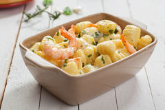 Νόστιμη ιταλική κουζίνα θαλασσινών Στοκ εικόνες με δικαίωμα ελεύθερης χρήσης