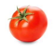 Νόστιμη ντομάτα που απομονώνεται στο άσπρο υπόβαθρο Στοκ εικόνα με δικαίωμα ελεύθερης χρήσης