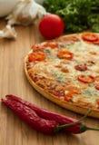 Νόστιμη πίτσα Στοκ εικόνα με δικαίωμα ελεύθερης χρήσης