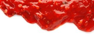 Νόστιμη πικάντικη σάλτσα τσίλι στοκ εικόνα