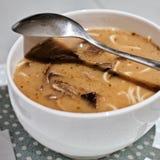 Νόστιμη σούπα μανιταριών Στοκ Φωτογραφίες