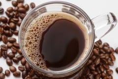 Νόστιμος καφές στενό σε επάνω στοκ εικόνες με δικαίωμα ελεύθερης χρήσης