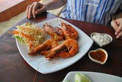 Νόστιμο γεύμα θαλασσίως Στοκ φωτογραφία με δικαίωμα ελεύθερης χρήσης