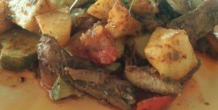 Νόστιμο γεύμα Vegi Στοκ εικόνες με δικαίωμα ελεύθερης χρήσης