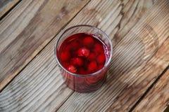 Νόστιμο επιδόρπιο φρούτων προγευμάτων Στοκ Φωτογραφίες