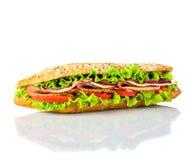 νόστιμο λευκό σάντουιτς &a Στοκ Εικόνες