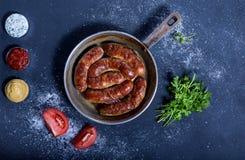 Νόστιμο και υγιές πιάτο κρέατος Στοκ Εικόνες