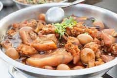 Νόστιμο μαγειρευμένο χοιρινό κρέας Στοκ Φωτογραφία