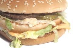 Νόστιμο μεγάλο burger Στοκ φωτογραφία με δικαίωμα ελεύθερης χρήσης