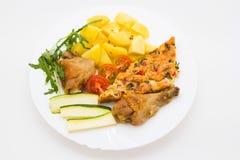 Νόστιμο μεσημεριανό γεύμα Στοκ φωτογραφίες με δικαίωμα ελεύθερης χρήσης