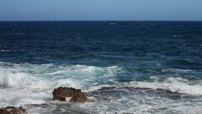 Νότια ακτή της Ισπανίας απόθεμα βίντεο