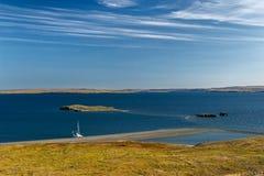 Νότια ακτή Novaya Zemlya Στοκ Εικόνες