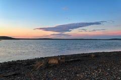 Νότια ακτή Novaya Zemlya Στοκ εικόνα με δικαίωμα ελεύθερης χρήσης