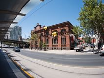 Νότια αυστραλιανή πόλη Αδελαΐδα το καλοκαίρι στοκ εικόνες με δικαίωμα ελεύθερης χρήσης