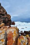 Νότια Αφρική, δυτικό ακρωτήριο, χερσόνησος ακρωτηρίων Στοκ Φωτογραφίες