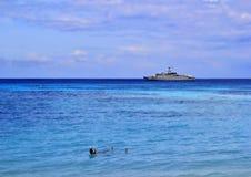 Νότια θάλασσα παραλιών Tbeautiful - καταπληκτική παραλία σε ένα τροπικό νησί Στοκ φωτογραφίες με δικαίωμα ελεύθερης χρήσης