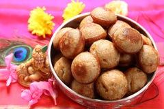 Νότια ινδικά τρόφιμα των NEI appam Στοκ Εικόνες
