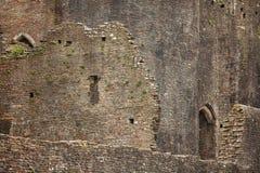 Νότια Ουαλία του Castle Caerphilly Στοκ φωτογραφία με δικαίωμα ελεύθερης χρήσης