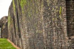 Νότια Ουαλία του Castle Caerphilly Στοκ εικόνα με δικαίωμα ελεύθερης χρήσης