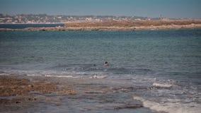 Νότια παραλία Συρακούσες απόθεμα βίντεο