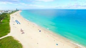 Νότια παραλία, Μαϊάμι Μπιτς Φλώριδα εναέρια όψη Στοκ εικόνες με δικαίωμα ελεύθερης χρήσης