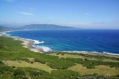 Νότια παραλία της Ταϊβάν Στοκ Εικόνα