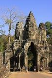 Νότια πύλη Angkor Thom, περιοχή Angkor Στοκ Εικόνες