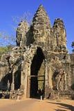 Νότια πύλη Angkor Thom, περιοχή Angkor Στοκ φωτογραφία με δικαίωμα ελεύθερης χρήσης