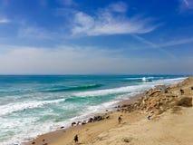 Νότιες παραλίες Καλιφόρνιας στοκ φωτογραφίες