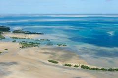 νότιος τροπικός της Μοζαμβίκης ακτών της Αφρικής Στοκ εικόνα με δικαίωμα ελεύθερης χρήσης