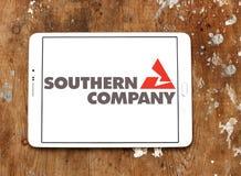 Νότιο λογότυπο επιχείρησης Στοκ εικόνα με δικαίωμα ελεύθερης χρήσης