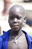 Νότιο σουδανέζικο χριστιανικό αγόρι Στοκ φωτογραφία με δικαίωμα ελεύθερης χρήσης