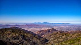 Νότος άποψης από το SAN Bernardino Mountains στοκ φωτογραφίες με δικαίωμα ελεύθερης χρήσης