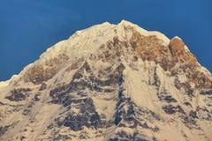 Νότος ΑΜ Annapurna στο Νεπάλ Στοκ Φωτογραφίες
