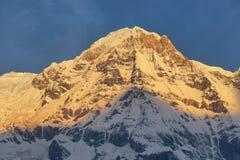 Νότος ΑΜ Annapurna στο Νεπάλ Στοκ εικόνες με δικαίωμα ελεύθερης χρήσης