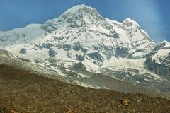Νότος ΑΜ Annapurna στο Νεπάλ Στοκ Εικόνες