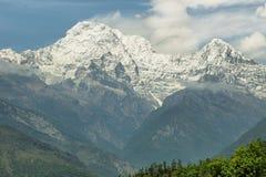 Νότος ΑΜ Annapurna στο Νεπάλ Στοκ φωτογραφία με δικαίωμα ελεύθερης χρήσης