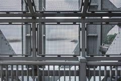 Νότος από τη διάβαση πεζών γεφυρών του George Washington Στοκ εικόνα με δικαίωμα ελεύθερης χρήσης