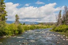 Νότος ποταμών του Κολοράντο του δύσκολου εθνικού πάρκου βουνών Στοκ φωτογραφία με δικαίωμα ελεύθερης χρήσης