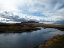 νότος ποταμών Platte Στοκ Φωτογραφία