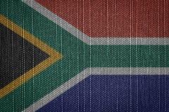 νότος σημαιών της Αφρικής Στοκ φωτογραφία με δικαίωμα ελεύθερης χρήσης